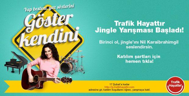 Trafik Hayattır'ın 2017'de tüm Türkiye'deki yerel ve ulusal radyolarda yayınlanacak yeni jingle'ı, gençlerden gelecek eserlerden seçilerek oluşturulacak.