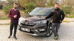 2016 Honda CR-V Sürüş İzlenimi