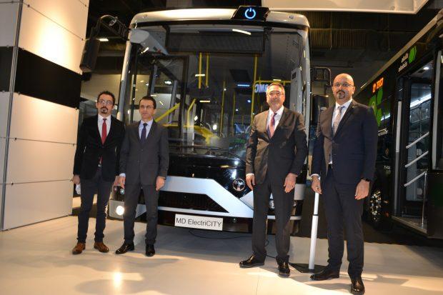 Temsa, kent içi ulaşıma yönelik yeni teknolojilerle donatılan Avenue iBUS, MD9 ElectriCITY, Opalin City, MD9 LE araçlarını tanıttı.