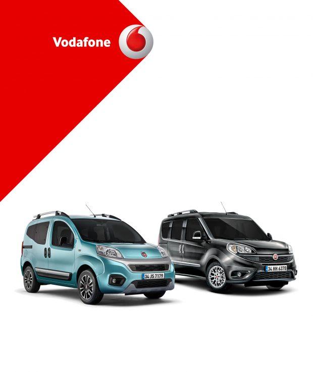 Vodafone Esnaf aboneleri, 31 Aralık'a kadar yapacakları Fiat ticari araç alımlarında 1000 TL indirimden yararlanabilecek.