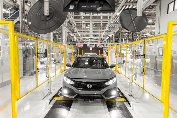 Honda, Kuzey Amerika, Asya ve Çin de dahil dünyanın farklı kıtalarında bulunan otomobil fabrikalarında toplam 4 milyon 999 bin 266 adet otomobil üretti.