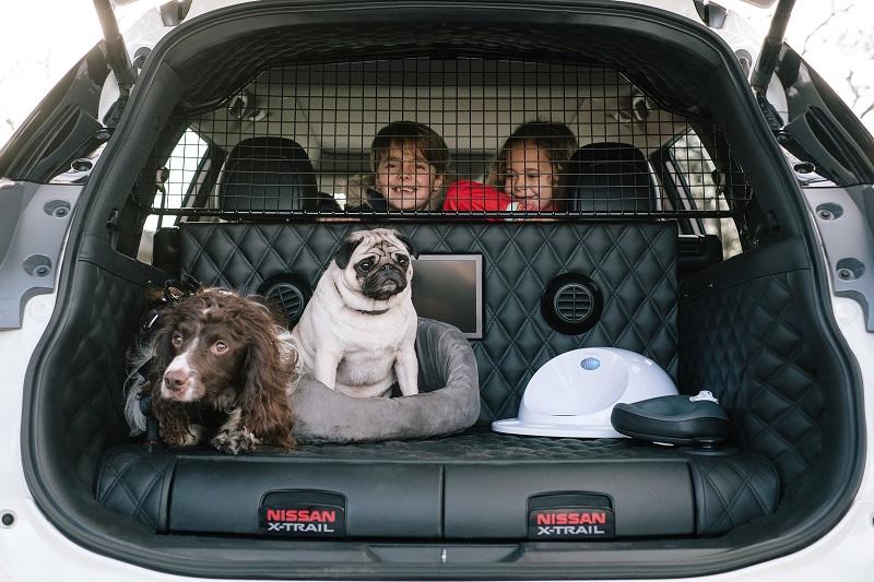 Nissan'dan Köpek Dostu Aileler İçin Özel Otomobil: X-Trail 4Dogs