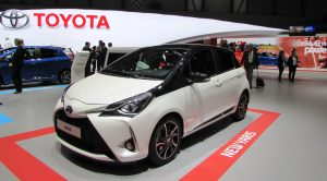 Toyota, Cenevre Motor Show'da Yeni Yaris'in Dünya Prömiyerini Gerçekleştirdi