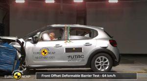 Yeni Citroen C3 Euro Ncap Çarpışma Testinden 4 Yıldız Aldı