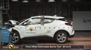 Toyota C-HR Euro Ncap'ten 5 Yıldız Alarak Güvenli Olduğunu Kanıtladı