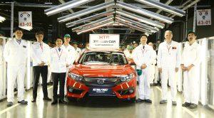 Honda Türkiye'deki 20'nci Üretim Yılında 300 Bininci Otomobili Üretti