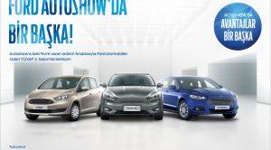 Ford İstanbul Autoshow'a Özel Olarak Kampanya Düzenliyor