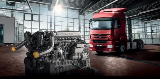 Mercedes-Benz Kamyon ve Otobüslerin Motorları Garantili Olarak Yenilenecek