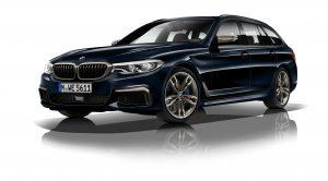 BMW, 5 Serisi'nin En Güçlü Versiyonu Olan M550D Xdrive'ı Tanıttı