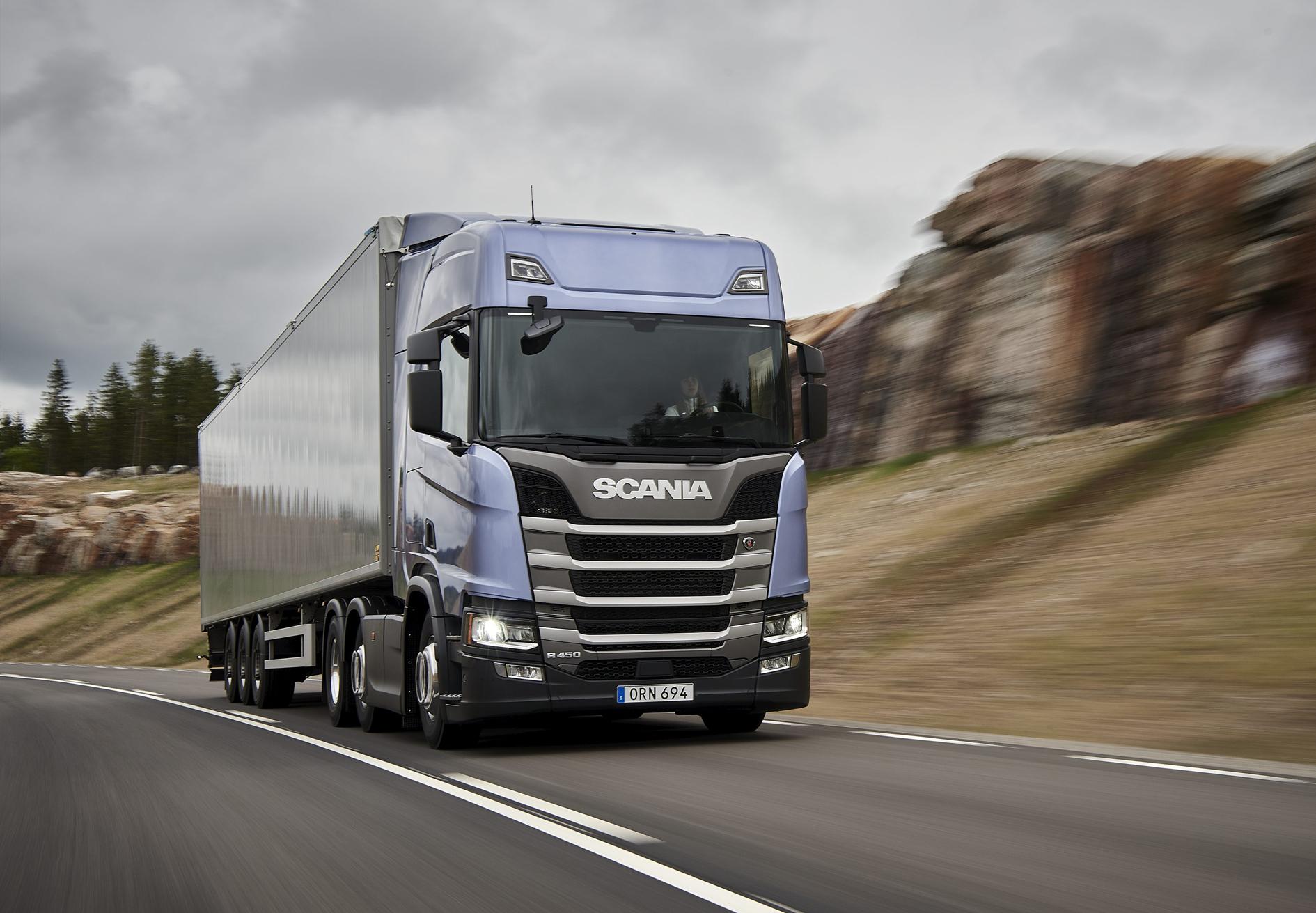 Scania'nın Yeni Nesil Kamyonları Türkiye'de Satışa Sunuldu