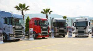 Yeni Scania 8 İlde 2 bin 500 Müşteri İle Buluştu