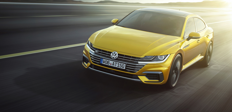 Volkswagen'in Coupe Formlu Yeni Sedanı Arteon Temmuzda Satışta