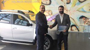 Dacia'nın Türkiye'deki 300 bininci Satışı Duster EDC Oldu
