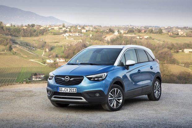 Opel Crossland foto galeisi
