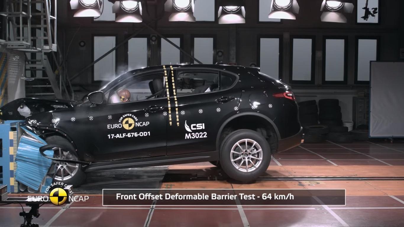 Alfa Romeo Stelvio Euro Ncap Çarpışma Testinden 5 Yıldız Aldı
