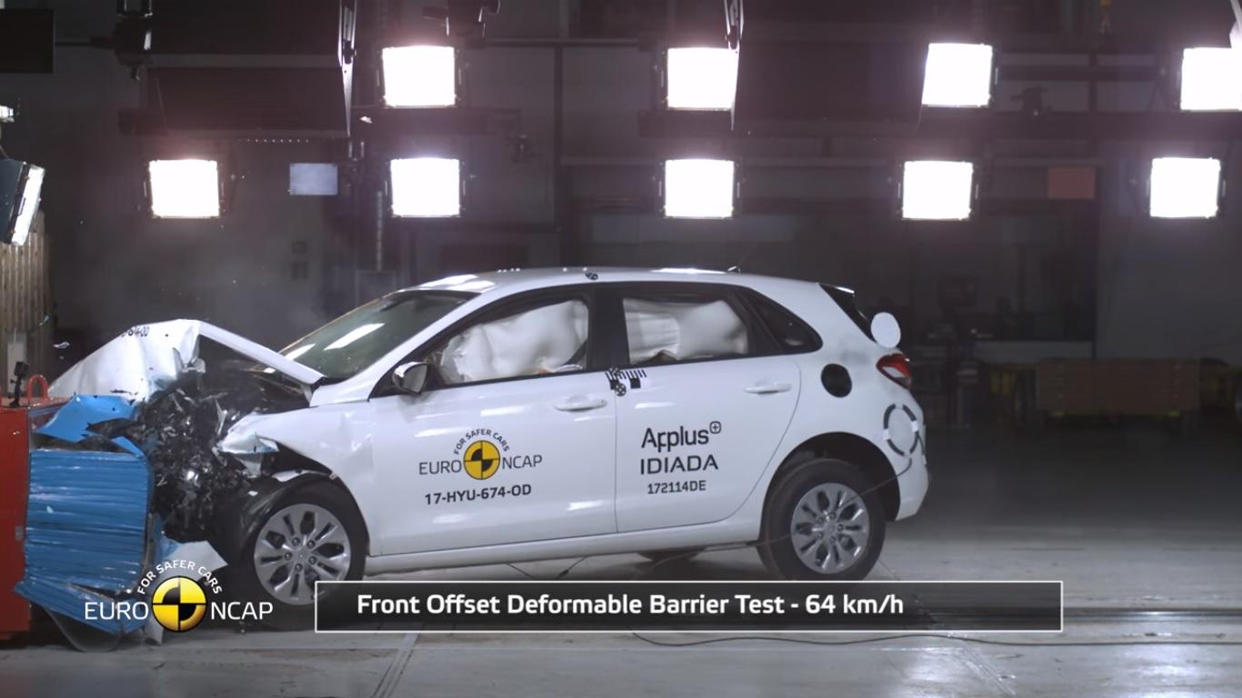 Hyundai i30 Euro Ncap Çarpışma Testinden 5 Yıldız Aldı