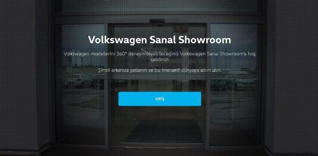 volkswagen sanal showroom