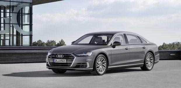 Audi A8 Frankfurt Otomobil Fuarı Öncesi Tanıtıldı