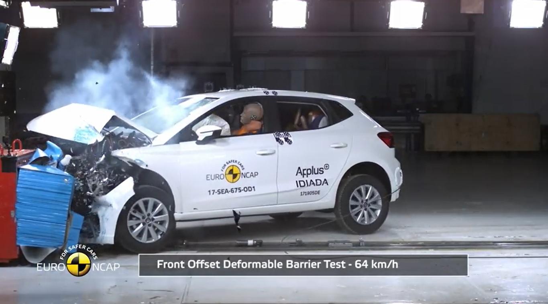 Seat Ibiza Euro NCAP Güvenlik Testlerinden 5 Yıldız Aldı