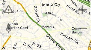 Yandex Navigasyon Sürücüleri Kazalara Karşı Uyaracak