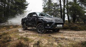 Toyota Hilux 50'nci Yıla Özel Versiyon Hilux Invincible 50 Chrome Edition