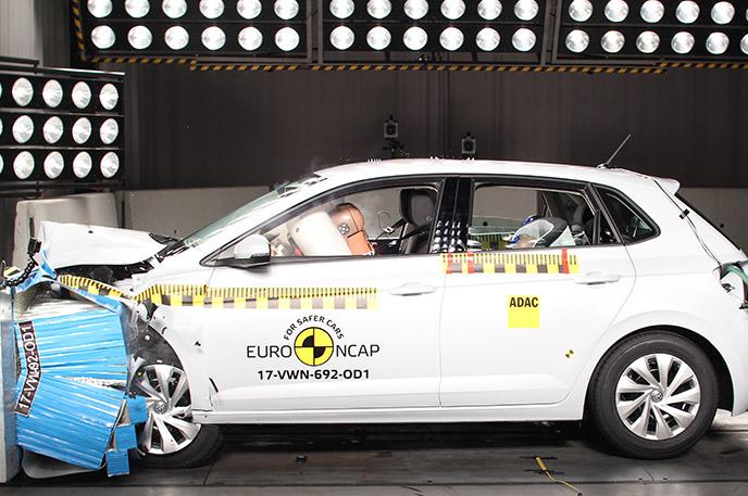 Volkswagen Polo 2017 Euro Ncap Testlerinin En İyi Süperminisi Oldu
