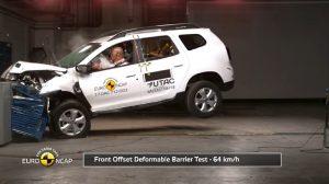Yeni Dacia Duster Euro Ncap Çarpışma Testi