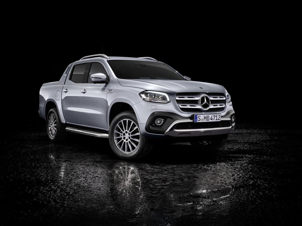 6 Silindirli Motor ve Sürekli 4 Tekerden Çekiş Sistemli Mercedes-Benz X-Class Tanıtıldı