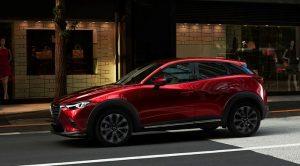 Makyajlanan Yeni Mazda CX-3 New York Otomobil Fuarı'nda Tanıtıldı