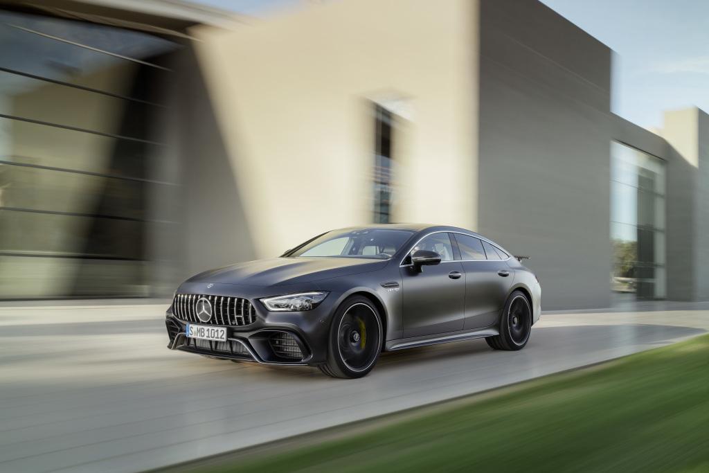 Mercedes-AMG Yeni 4 Kapılı Coupe'sini Tanıttı