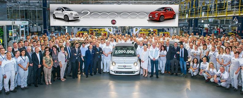 İki Milyonuncu Fiat 500 Üretildi