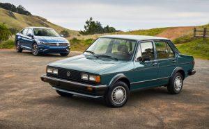 İlk Nesil 1982 ve Son Nesil 2018 Volkswagen Jetta