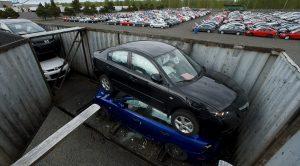 4 Bin 703 Adet Mazda İşte Böyle Hurdaya Gitti