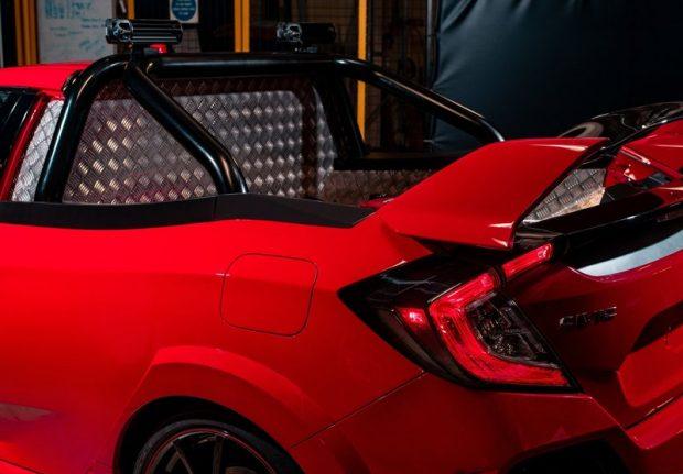 Honda Civic Type R Pickup Truck Concept 2 e1527238545330