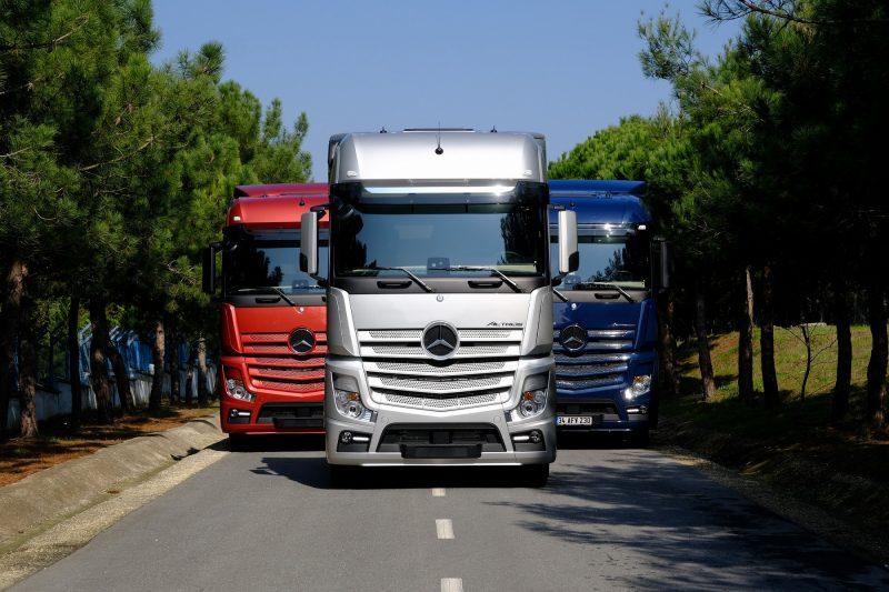 Mercedes-Benz Actros Çekicide Yeni Kabin ve Motor Seçenekleri