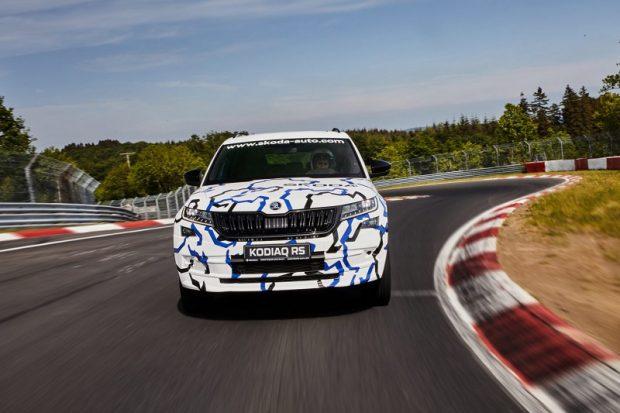 Kodiaq RS Nurburgring 3