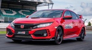 Honda Civic Type-R Silverstone'da Pist Rekoru Kırdı
