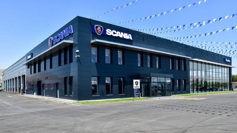 Türkiye'nin En Büyük Scania Tesisi Kayseri'de Açıldı
