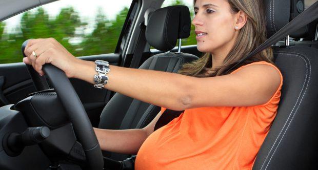Trafikte hamile guvenligi