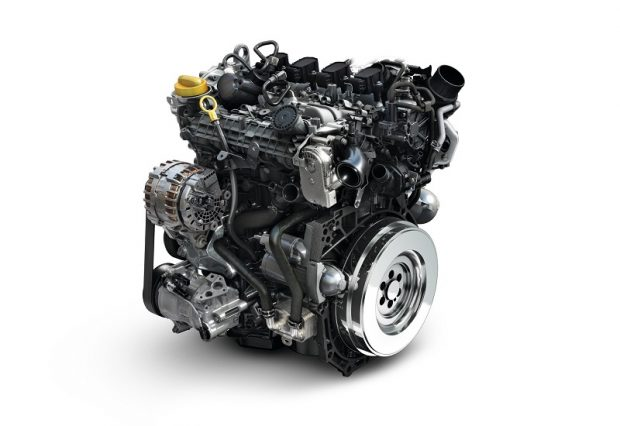 Duster TCe 115 to 160 engine