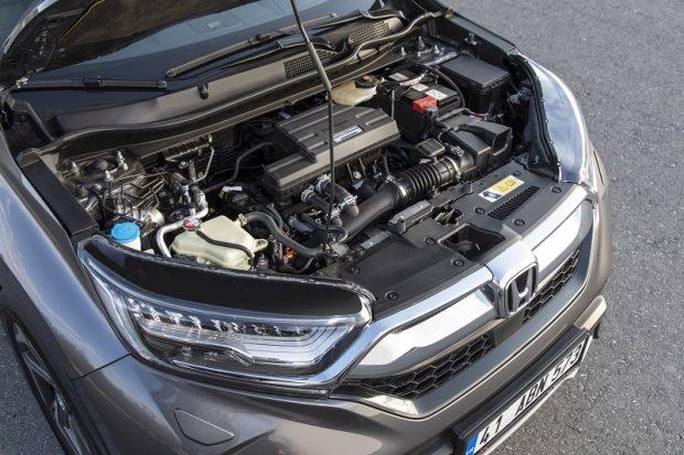 Honda CRV teknik