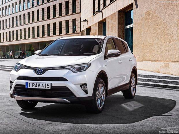 Toyota RAV4 Hybrid EU Version 2016