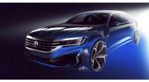 İşte Yeniden Tasarlanan 2020 VW Passat'a İlk Bakış
