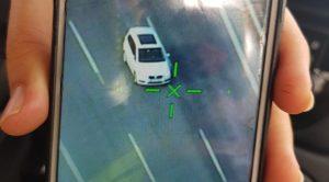 Otoyolda Yanlış Araçla Yarıştı Hız Cezasını Yedi
