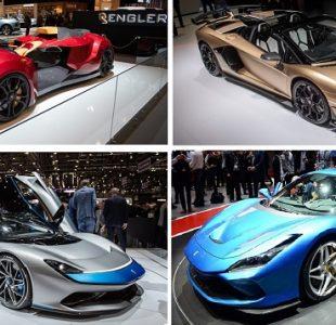 2019 Cenevre Otomobil Fuarında Tanıtılan Süper Otomobiller