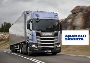 Anadolu Sigorta'nın Yeni Ürünü Scania Kasko Sigorta Poliçesi