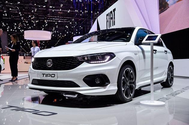 Fiat Egea'nın Yeni versiyonu Cenevre Otomobil Fuarında Tanıtıldı