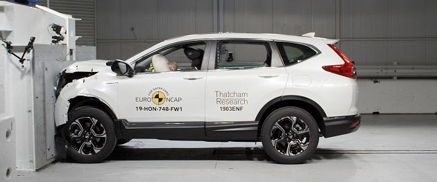 Honda CR-V Euro NCAP Çarpışma Testinden 5 Yıldız Aldı