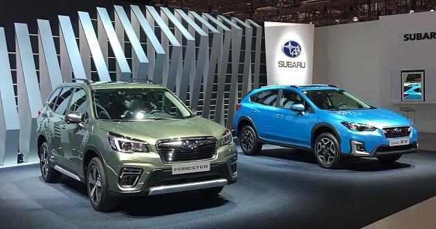 Subaru Elektrikli Yeni Modellerini Cenevre Otomobil Fuarında Tanıttı