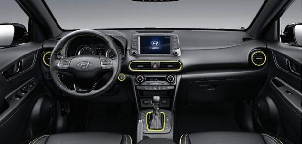 Hyundai Kona Dizel ic